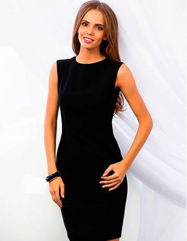 Платье черное,платье карандащ