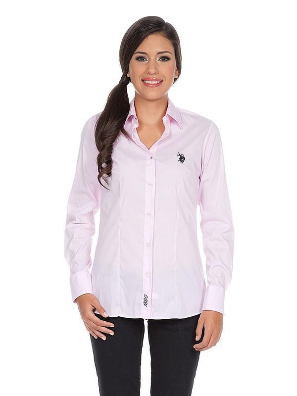 Женская белая рубашка u.s. polo assn оригинал ,р.38