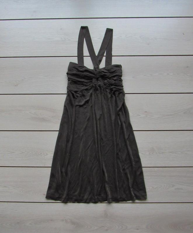 Новогодние скидки!платье с люрексом от savage black out размер m