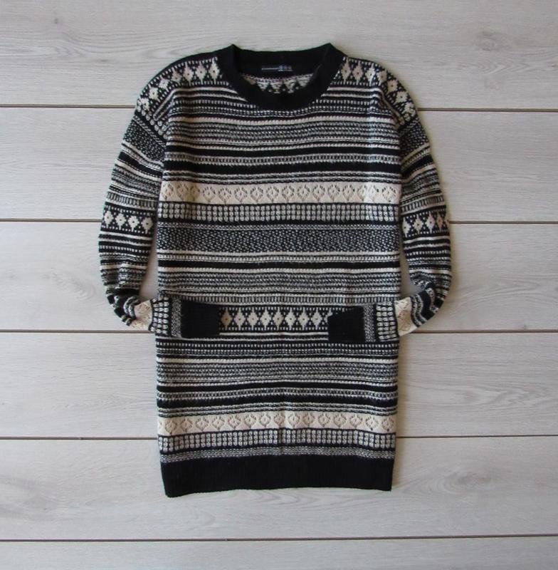 Удлиненный свитер от atmosphere