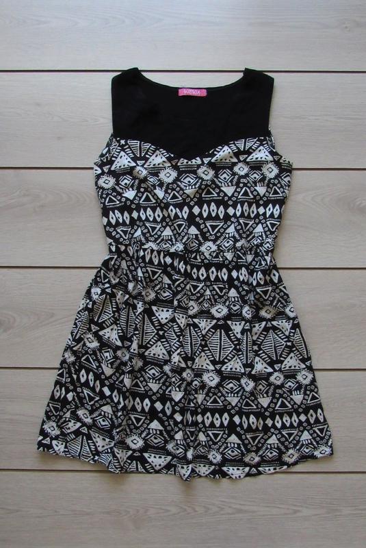 Платье сарафан ворнамент