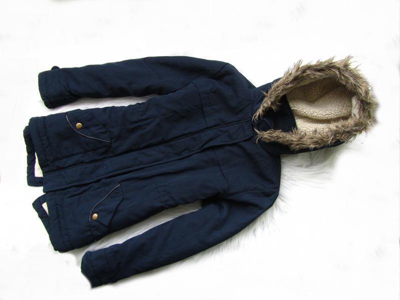 Стильная демисезонная куртка парка с капюшоном matalan