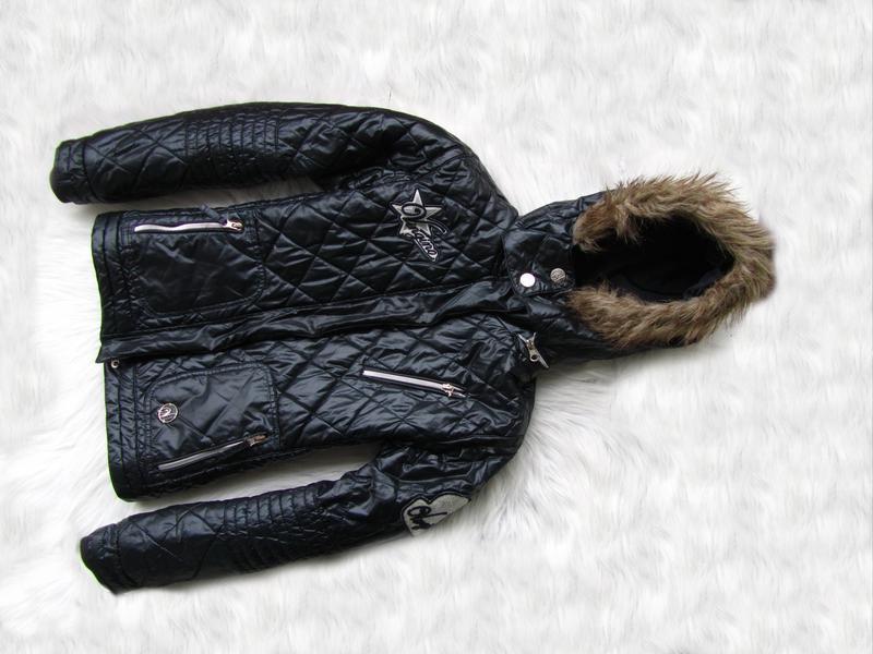 Стильная теплая куртка с капюшоном vingino