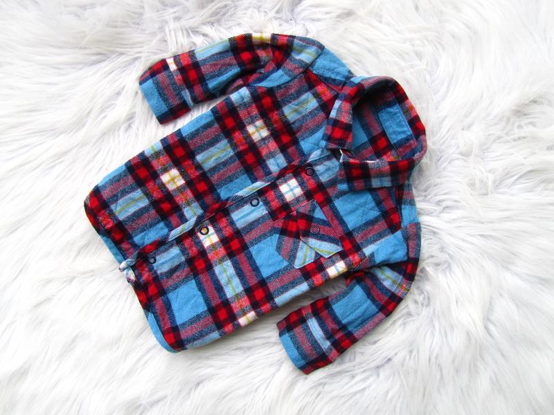 Качественная и теплая рубашка кофта marks & spencer