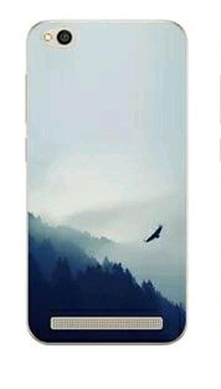 Чехол силиконовый с рисунком на Xiaomi redmi 5A + защитное стекло