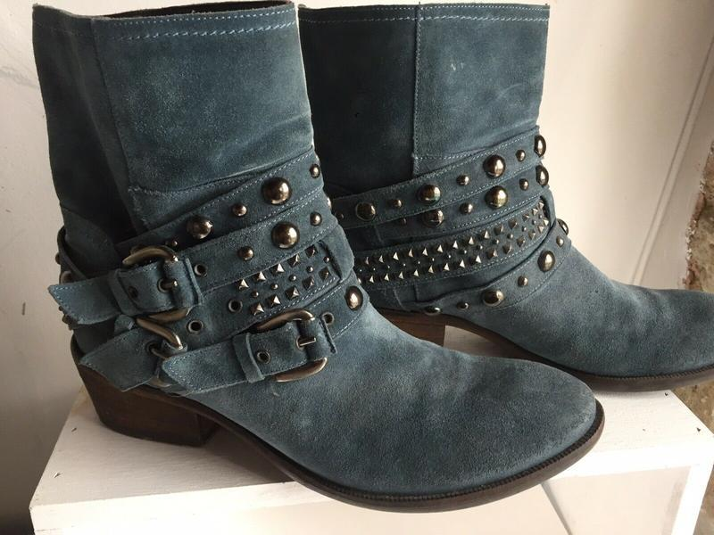 Russell bromley rockafella ботинки ботильоны кожаные замшевые