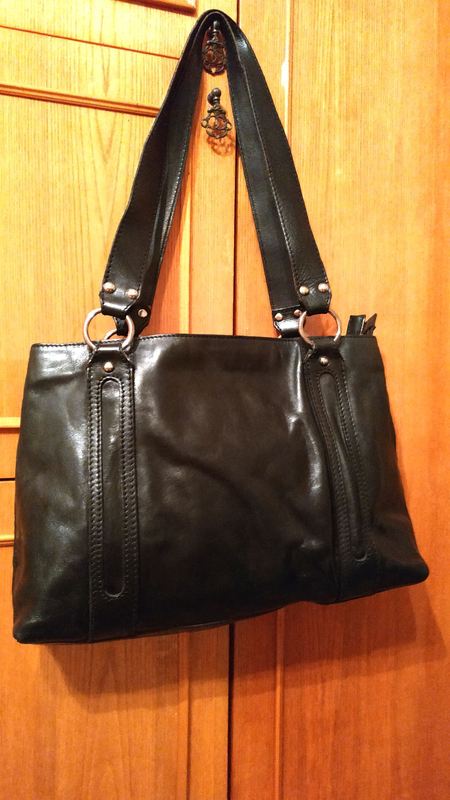 Женская кожаная сумка Elega