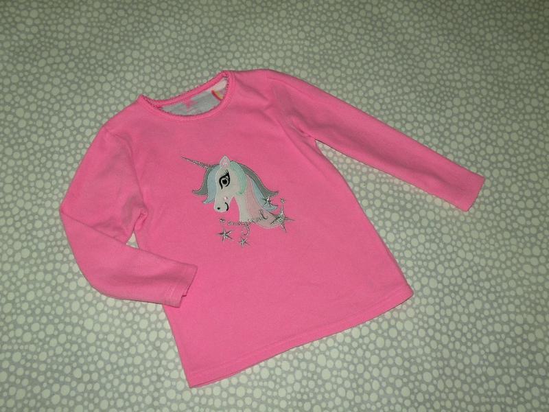 Флисовый свитерок единорог 4-5 лет