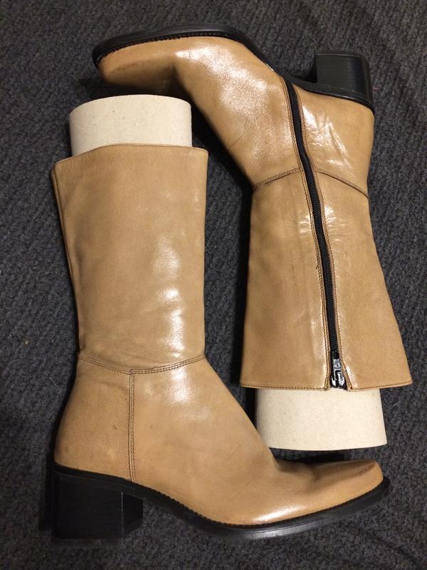 Cp sole personali кожаные ботинки сапоги
