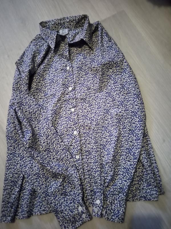 Брендовая рубашка 100% котон oxford