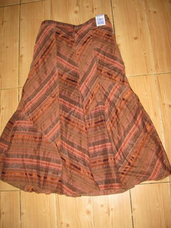 """Новая юбка """"m&s"""" р.42 пояс-резинка"""
