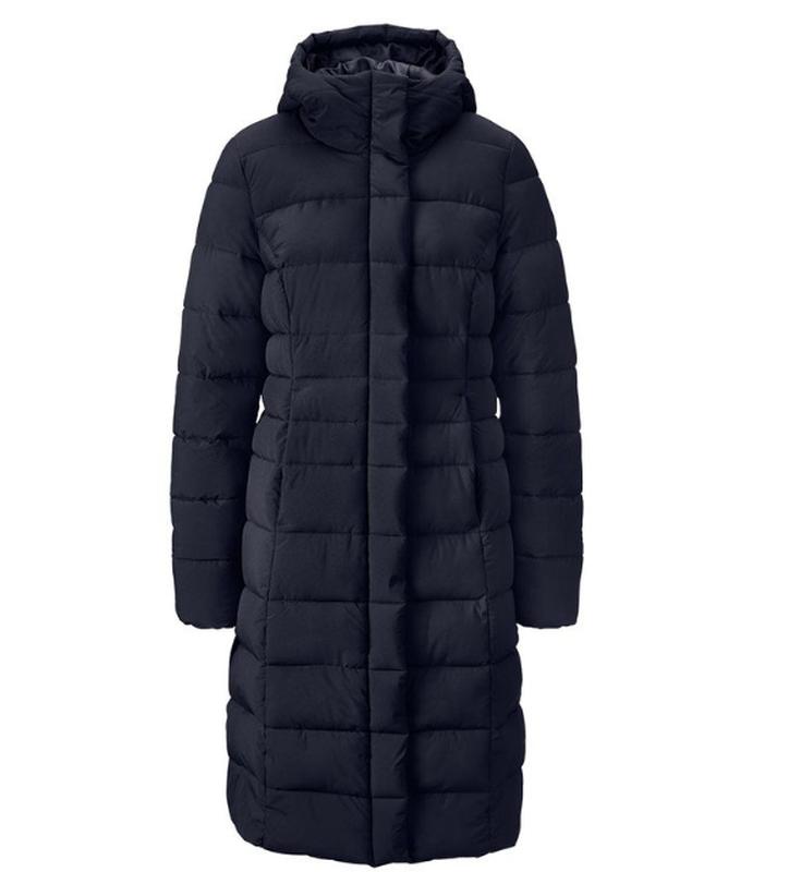 Теплющее зимнее стеганное пальто на молнии tchibo германия, ра...