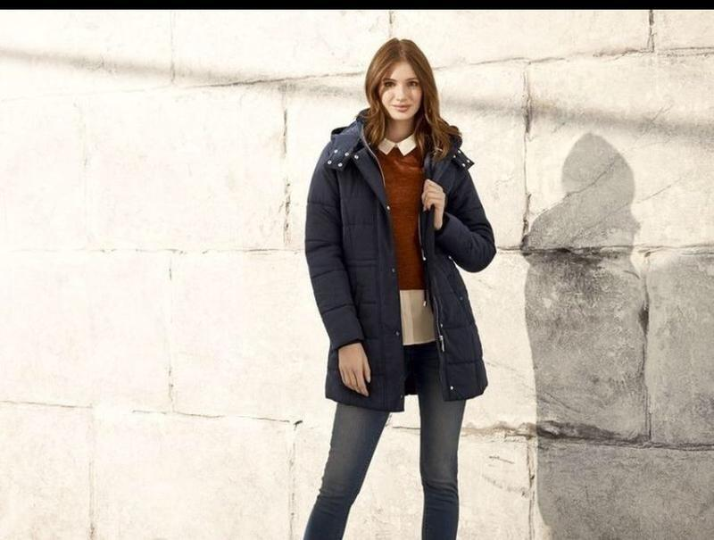 Зимнее пальто куртка пуховик esmara