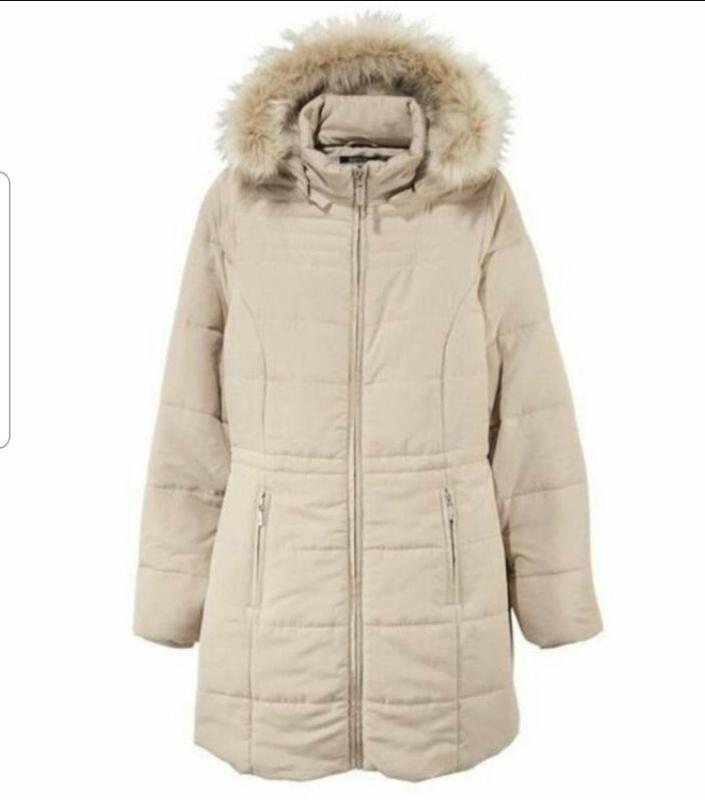 Esmara зимнее пальто куртка пуховик