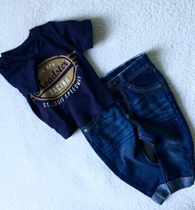 Крутые джинсы для малыша 3-6месяцев