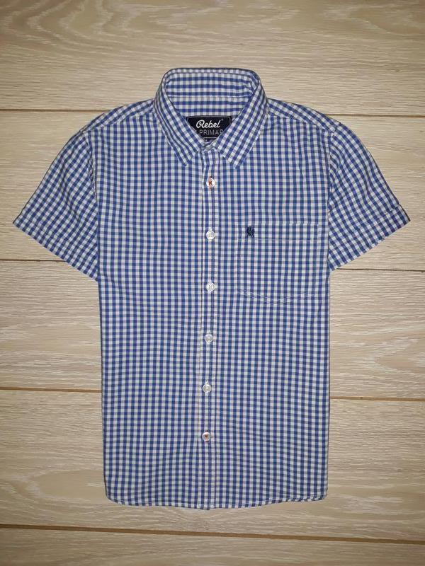 Рубашка rebel на 9-10 лет 2017г