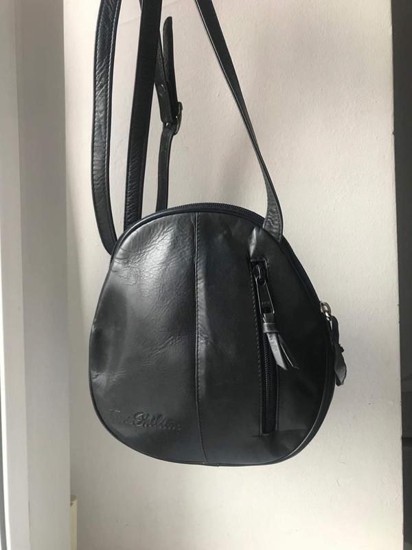 Кожаная сумка кроссбоди jane shilton