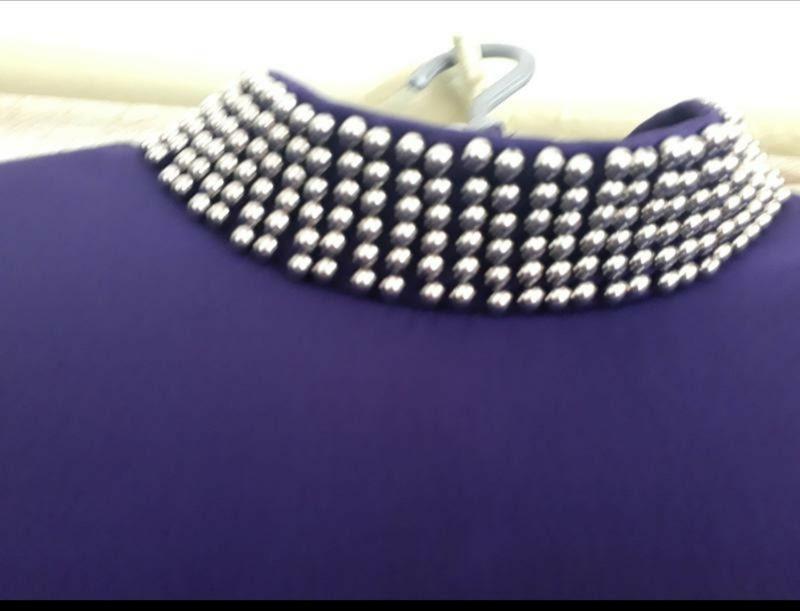 Фиолетовое платье мохито
