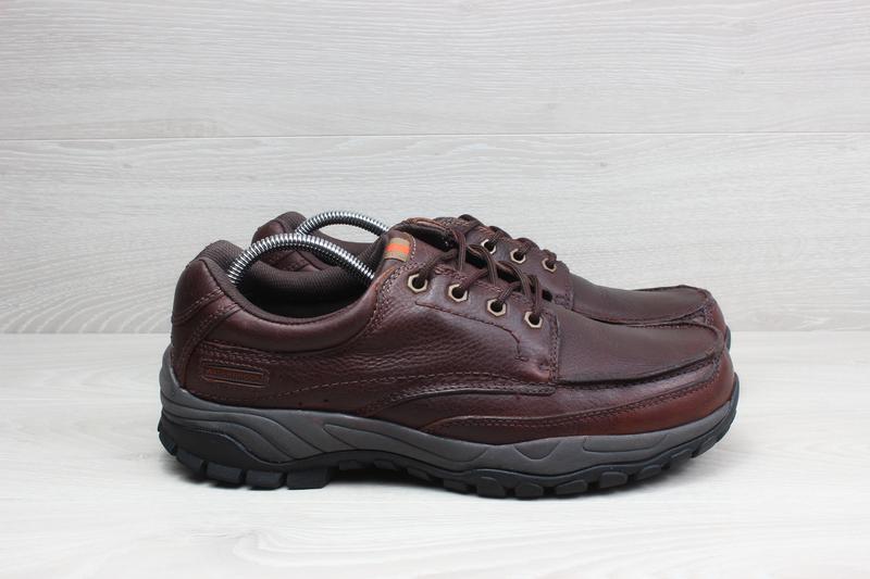 Кожаные мужские туфли / ботинки Marks & Spencer, размер 44