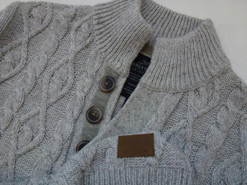 Шикарный, теплый мужской свитер