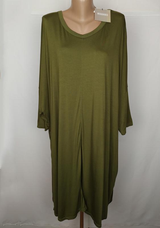 Платье новое стильное трикотажное большого размера missguided ...