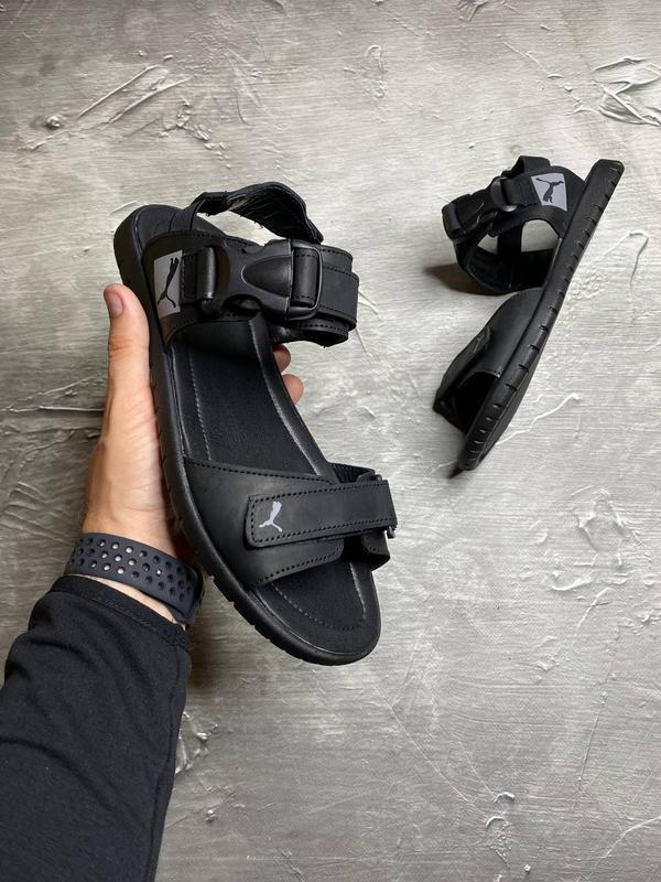 ???? стильные кожаные мужские сандалии сандали