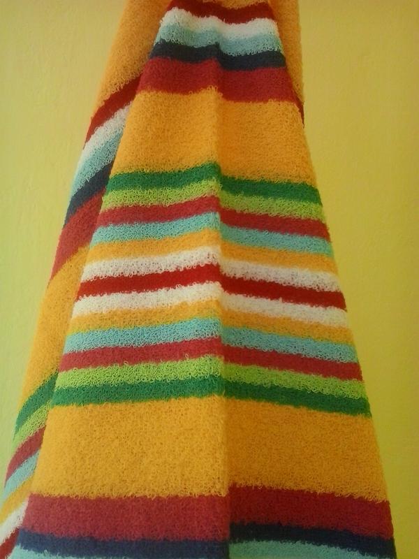 Махровое полотенце 100*50 желтый - Фото 3