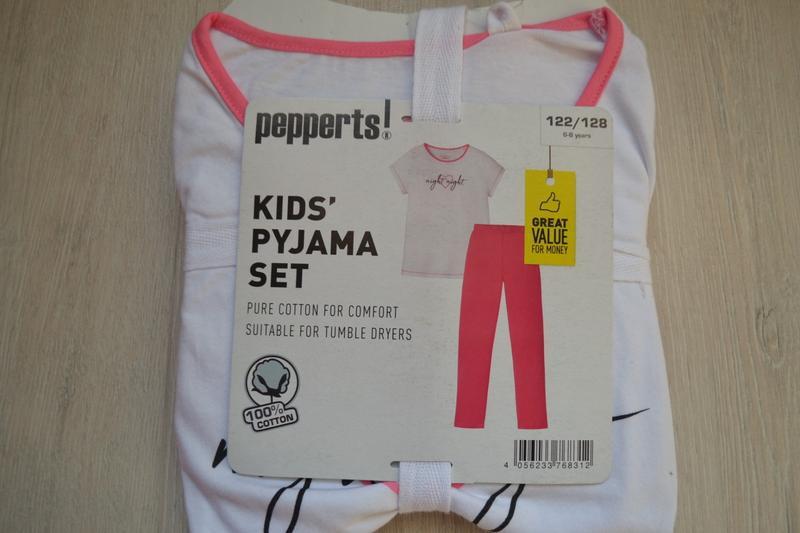 Піжама pepperts пижама домашний костюм