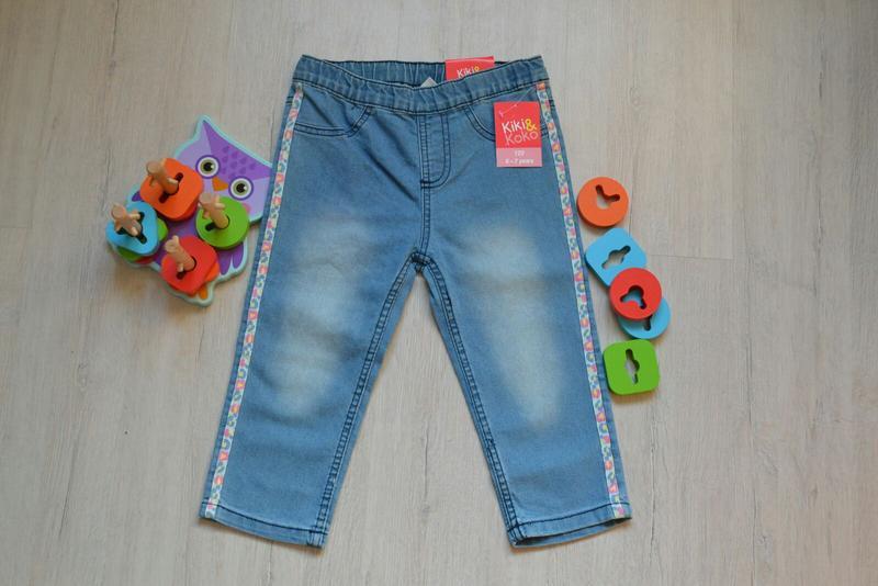 Бриджи джинсовые джинсові бріджи kiki koko шорти шорты
