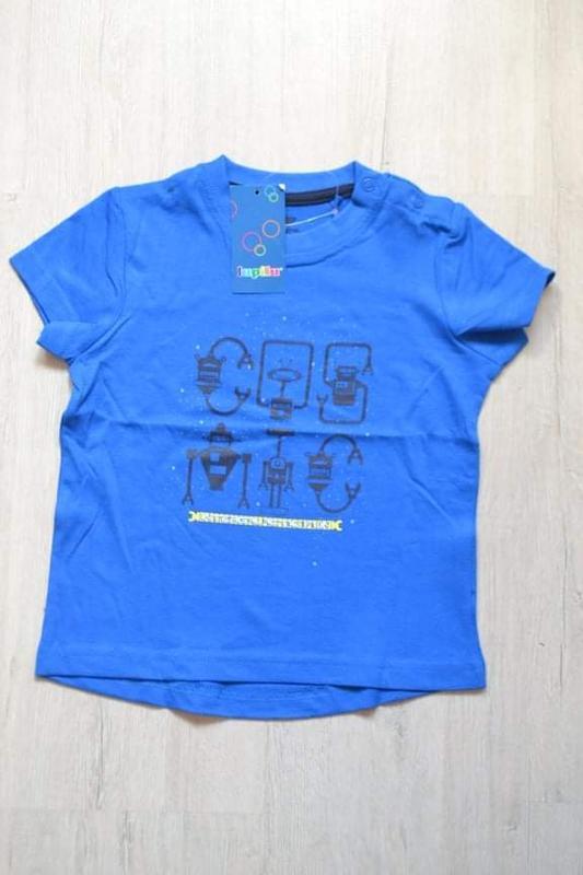 Футболка для мальчика lupilu на рост 86 - 92 футболка хлопчику...