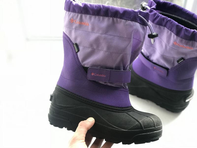 Columbia waterproof дитячі зимові термо сапожки оригінал