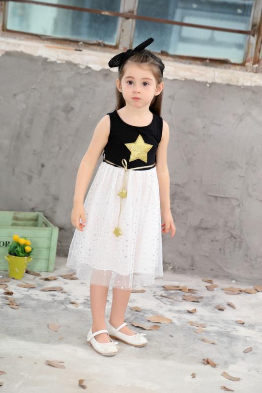 Нарядное красивое детское платье 1214