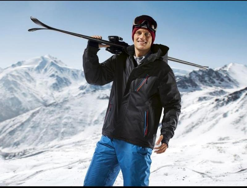 Зимняя лыжная термо куртка crivit