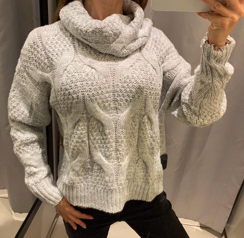 Серый свитер с голос кофта reserved есть размеры