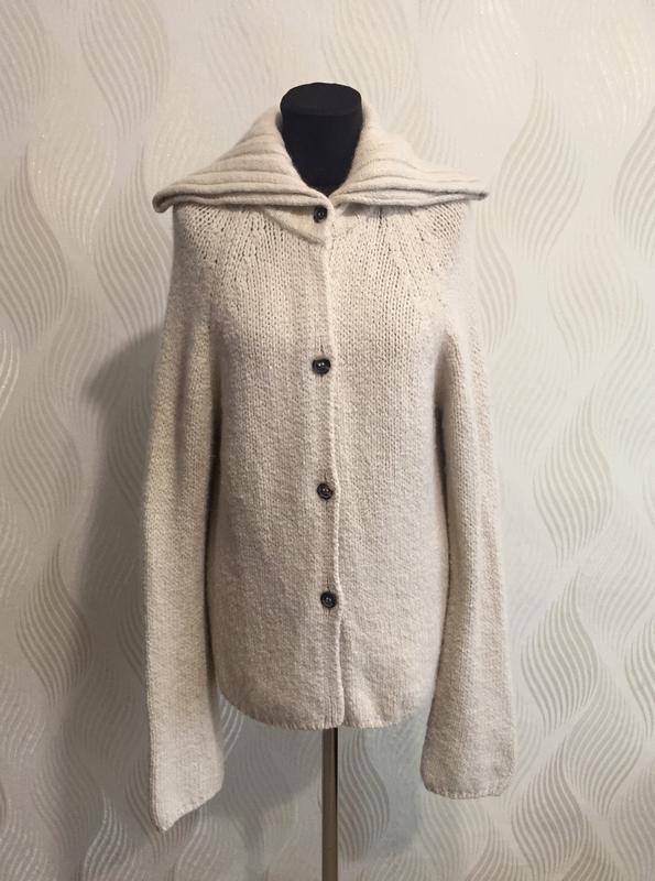 Шерстяной кардиган кофта свитер annette gortz
