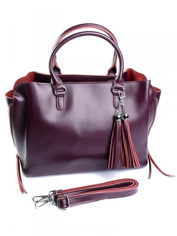 Женская кожаная сумка из натуральной кожи шкіряна