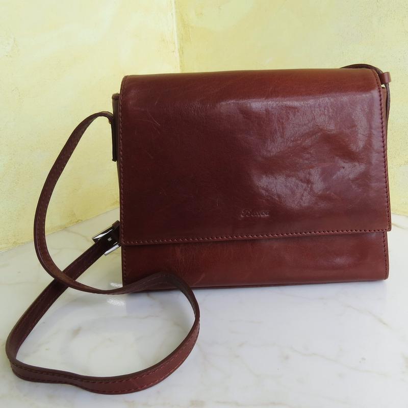 Классическая кожаная сумка boxca, оригинал