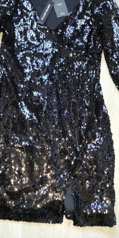Новое женское праздничное новогоднее платье с паётками house - Фото 8