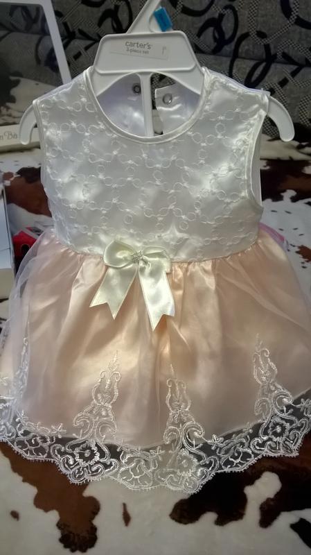 Платье (набор) на выписку,крестины