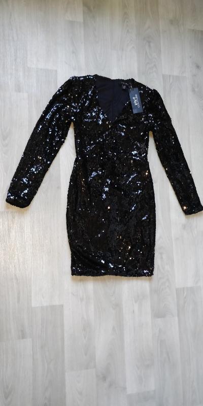 Продам новое женское праздничное новогоднее платье в паетках - Фото 2