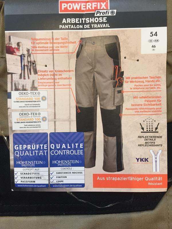Рабочие термо штаны брюки powerfix спецодежда