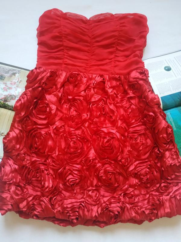 """Роскошное платье с обьемными цветами """"savida"""""""