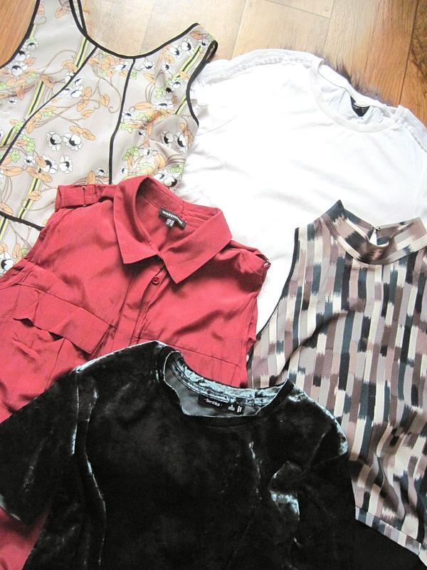 Лот из 5 вещей, 5 блуз по цене 1 размер м