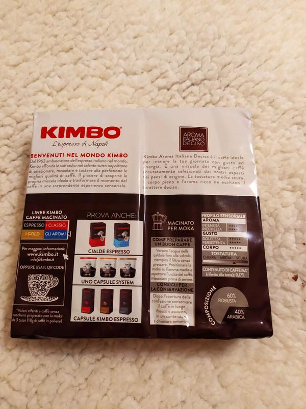 Кофе Кимбо 500г - Фото 2