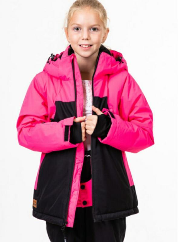 Яркая горнолыжная куртка детская just play