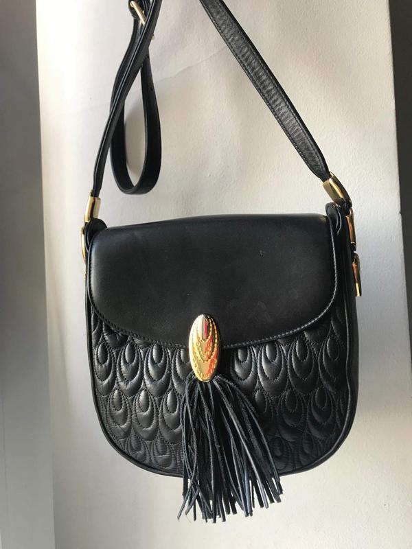 Кожаная сумка кроссбоди valentino orlandi