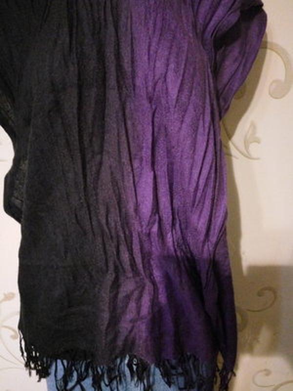 Красивый шарф палантин платок шаль g.w. . размер 70 х 172 см