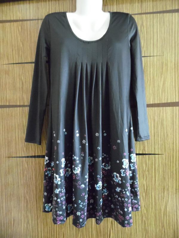 Платье трикотаж новое viz размер м – идет на 46- 48.