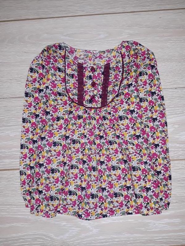 Лёгенькая блуза nutmeg на 5-6 лет