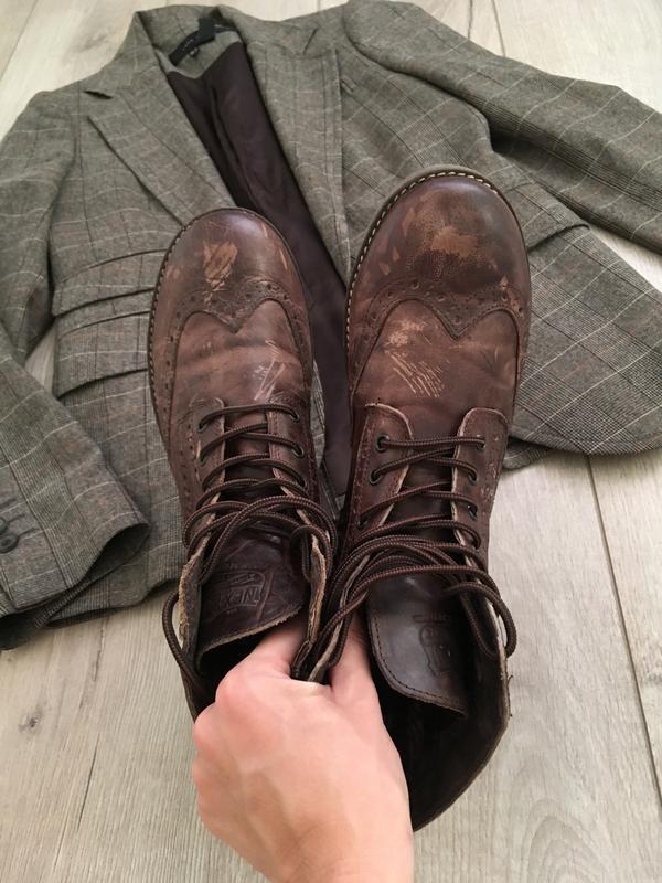 Ботинки оксфорды next